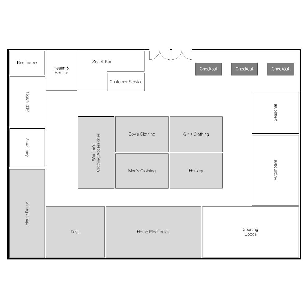 Example Image Super Store Layout Store Layout Restaurant Floor Plan Floor Plans Online