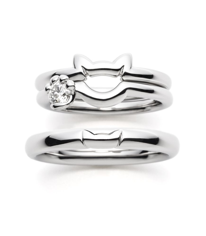 cat rings in silver pinteres. Black Bedroom Furniture Sets. Home Design Ideas