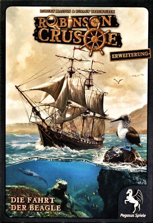 Robinson Crusoe, Die Fahrt der Beagle (Erweiterung)