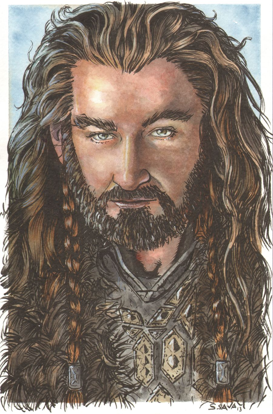 Thorin Oakenshield from the Hobbit by ssava@deviantART