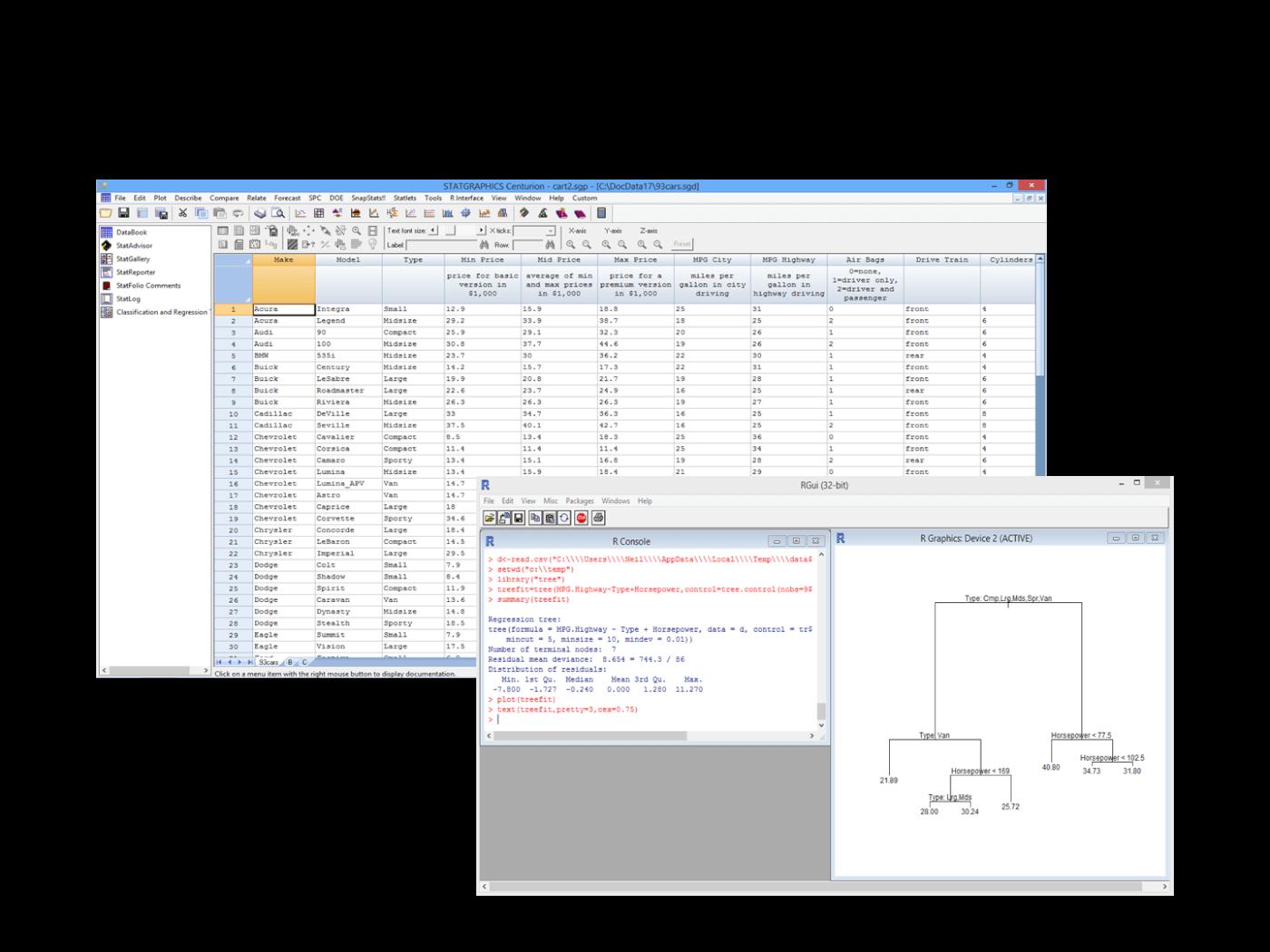 Statgraphics Centurion Standard deviation, Freeware