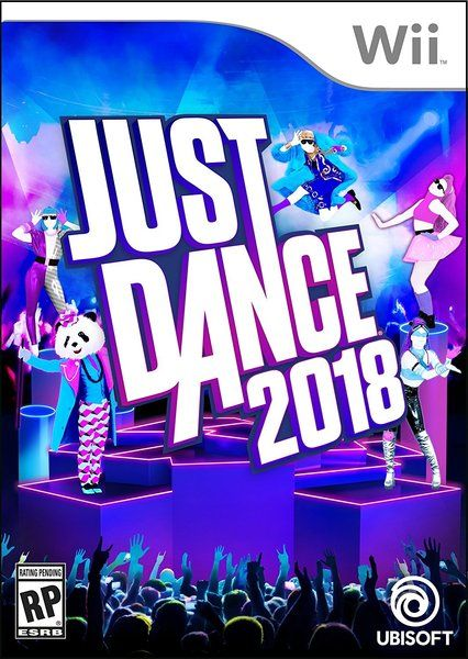 Just Dance 2018 - Wii box The Wii continues on all these years ...