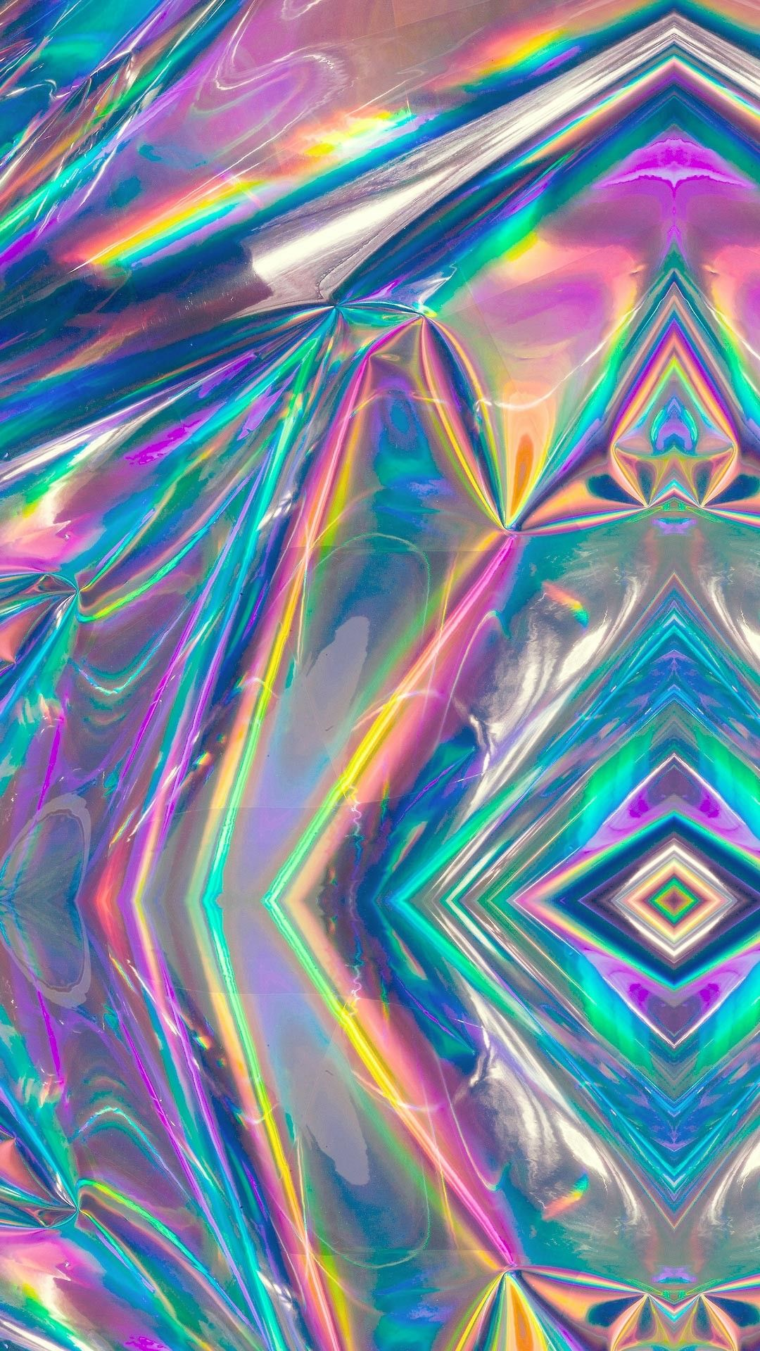 Gradient Holographic 🌈 Holographic wallpapers, Cute