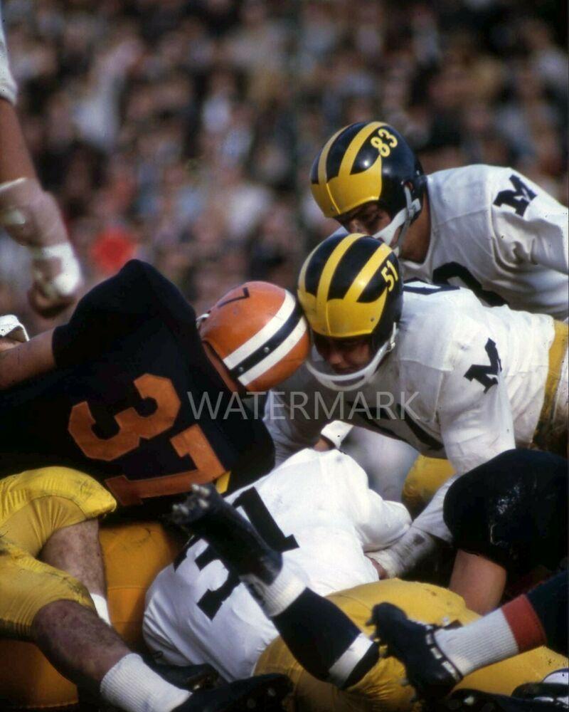 1960's U of Michigan Sports 16x20 3/pk poster prints in