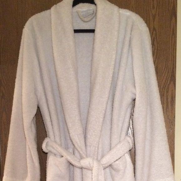 Long Cozy White Robe. Bath Body WorksBath ... b9b8f52ec