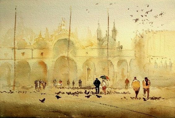 Kazuo Kasai - Study for Venezia