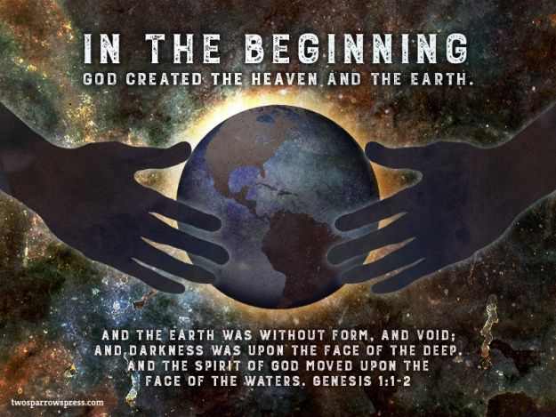 Image result for Genesis 1:1 - 6:8