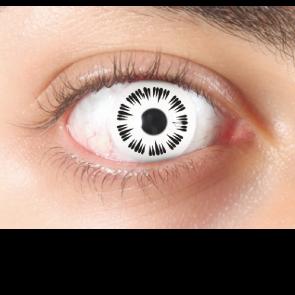 halloween non prescription contact lenses white sparkle halloween