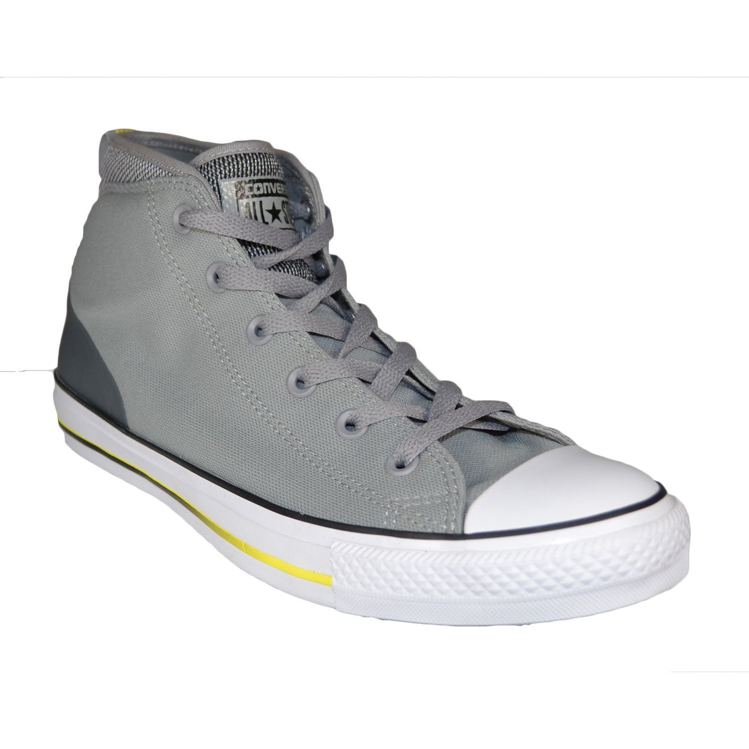 CONVERSE Chuck Taylor Syde Street Mid Men | Dolphin/Black/Fresh Yellow  (155481C