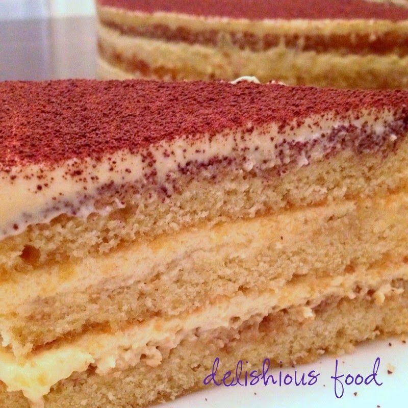 Tiramisu Cake - Raw-Egg-Free