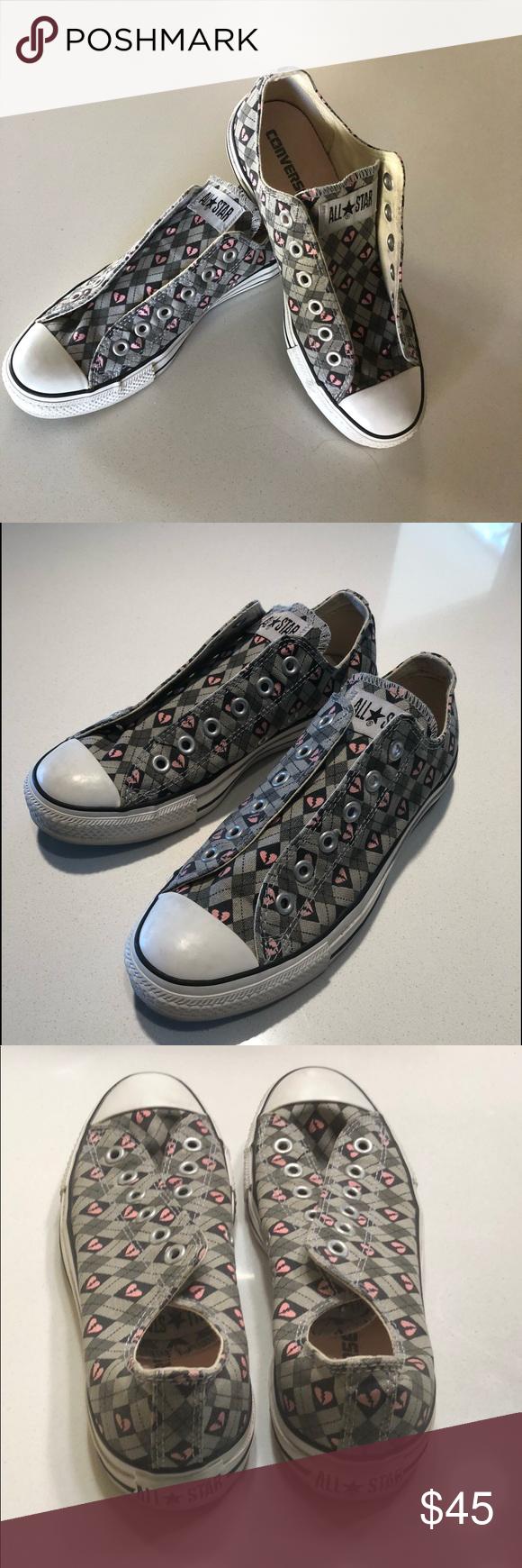 "521eaeee95d4bb Converse ""Broken Hearts"" 💓 Adorable Converse All-Star ""Broken Hearts""  sneakers"