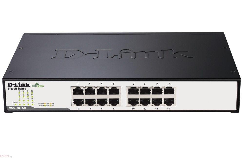 Mrezhov Suich D Link 16 Port 10 100 1000mbps Copper Gigabit Ethernet Switch Switch Gigabit Switch Port