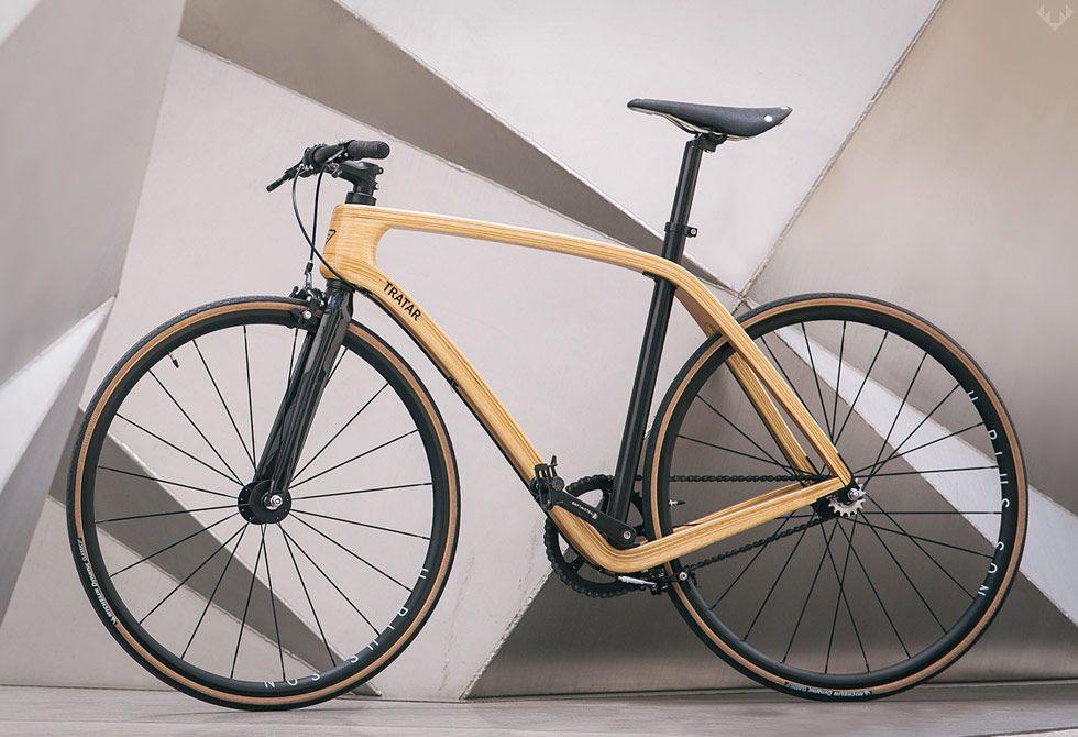 tratar svarog wooden bike - Wooden Bike Frame