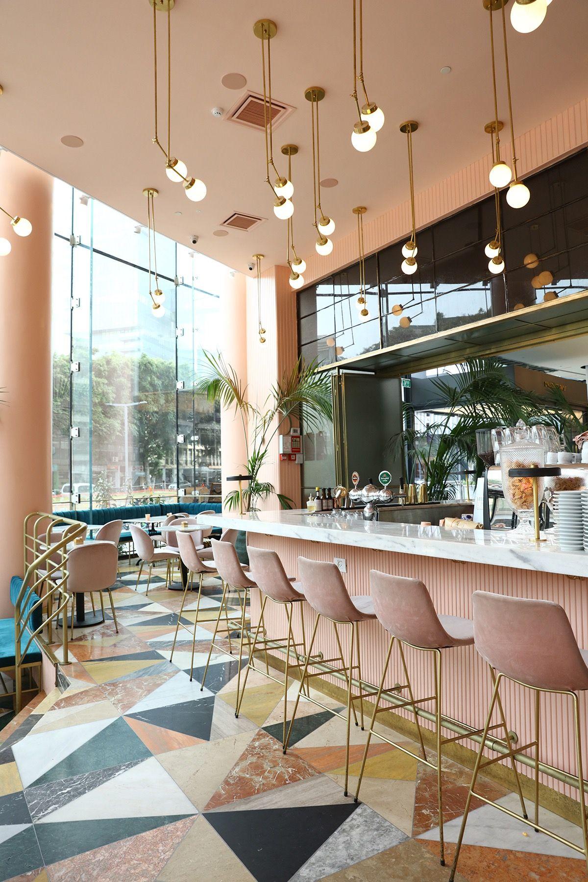 Inside Cafeteria Restaurant in Tel Aviv | Restaurants | Restaurant ...