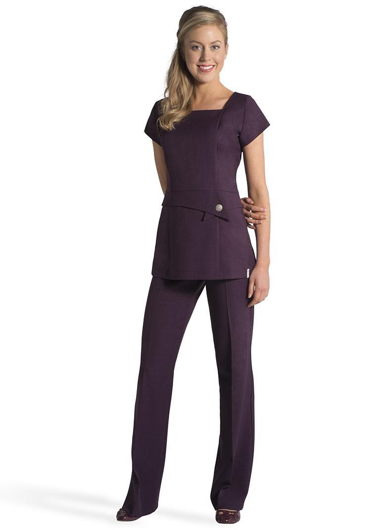 Florence roby beauty uniforms beauty tunics salon wear for Spa uniform suppliers cape town