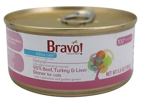 Bravo Feline Caf 95 Beef Turkey Liver Dinner Cat 2455z Details Can Be Found By Clicking On The Image Canned Cat Food Cat Fleas Dog Vitamins