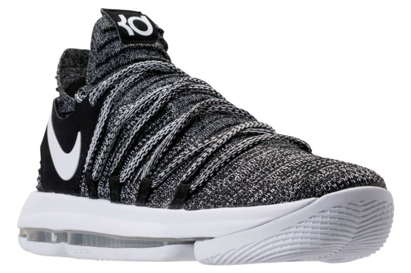 Nike KD 10 Oreo Release Date 897815-001 | Sole Collector | DUMBFRESH ...