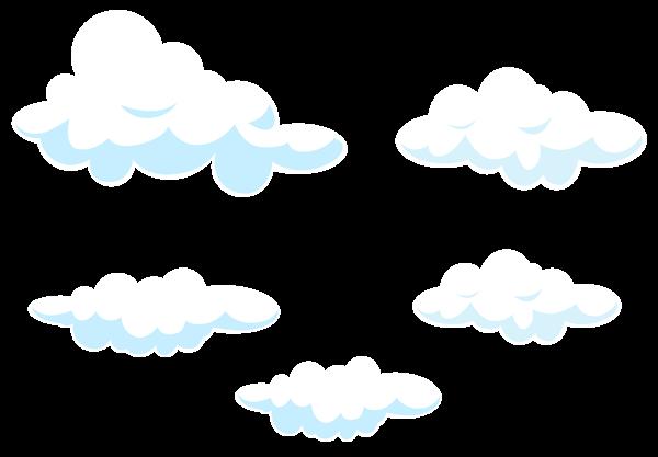 Cartoon Clouds Set Transparent Png Clip Art Image Cartoon Clouds Clip Art Free Clip Art