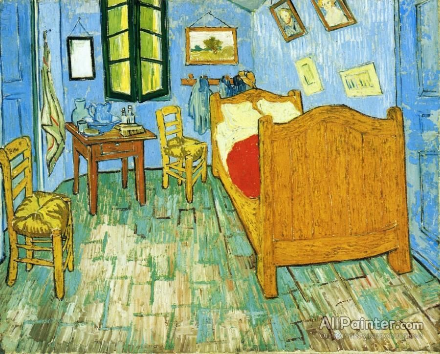 Vincent\'s Bedroom In Arles | Van gogh, Oil painting reproductions ...