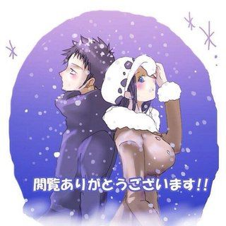 Trafalgar Law+Nico Robin. Not a shipper of them, but this is cute :)