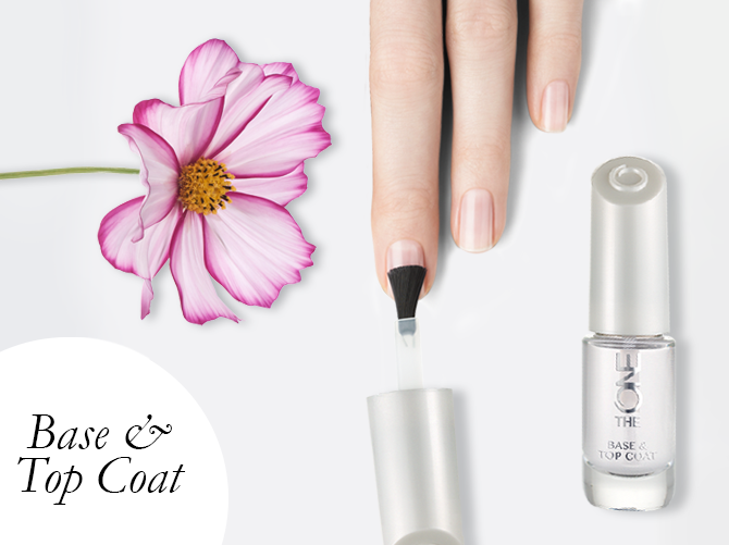 The ONE Clear Base & Top Coat | Love Oriflame | Pinterest | Top coat