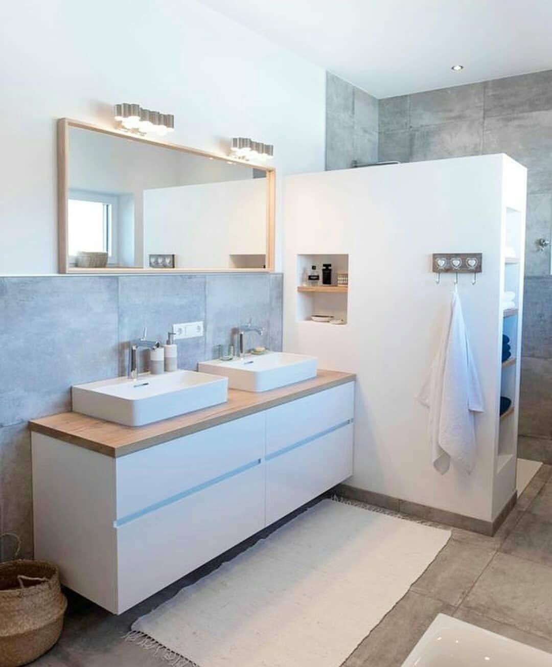 2 484 Gostos 9 Comentarios Home Design Home Design68 No Instagram Credit Inspi Deco Bath Arredo Bagno Moderno Arredamento Bagno Design Del Bagno