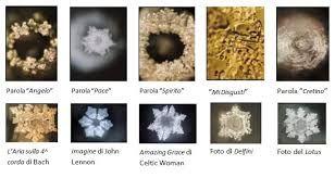 masaru emoto cristalli d'acqua immagini - Cerca con Google