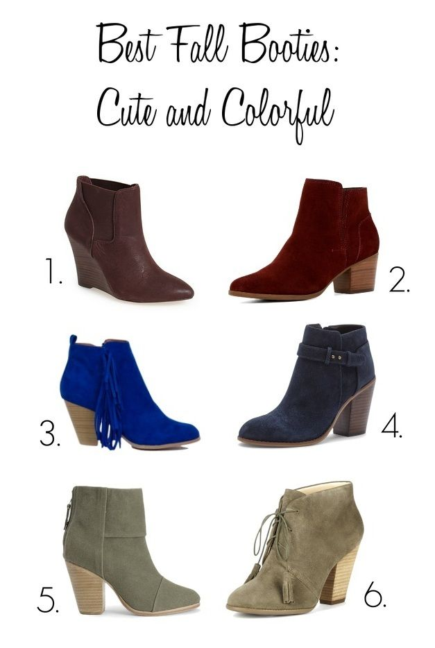 16e01a6ff Best Fall Booties | Shoes Shoes Shoes! | Fall booties, Fall shoes, Fall