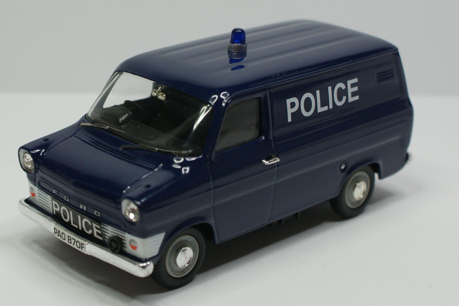 Ford Transit Mk1 Van Police Toy Car Ford Transit Car Model