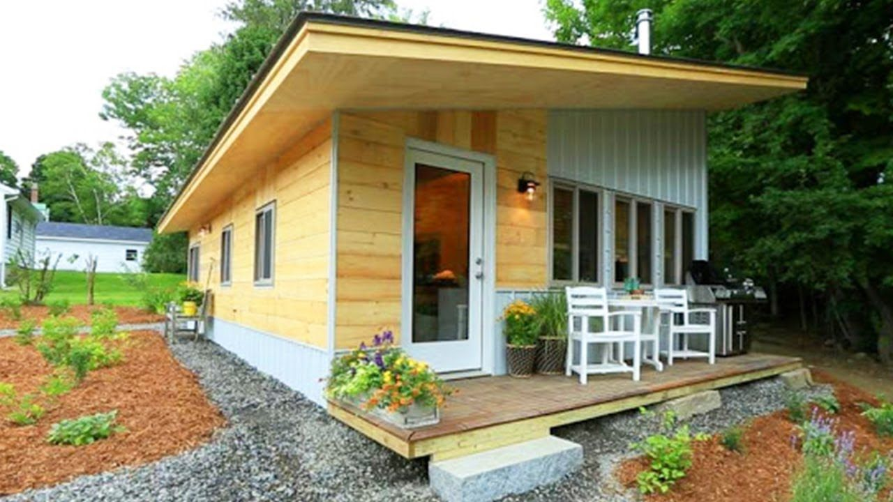 Absolutely Beautiful Vermont Chalet Tiny House Nation In