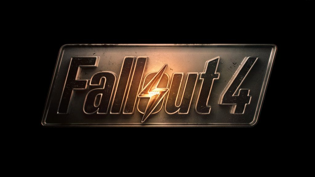 Fallout 4 2015 Gaming Logo Wallpaper By MatrixUnlimited