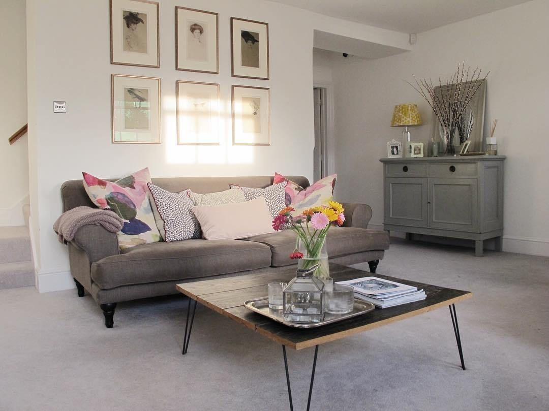 A Light Bright Georgian Living Room
