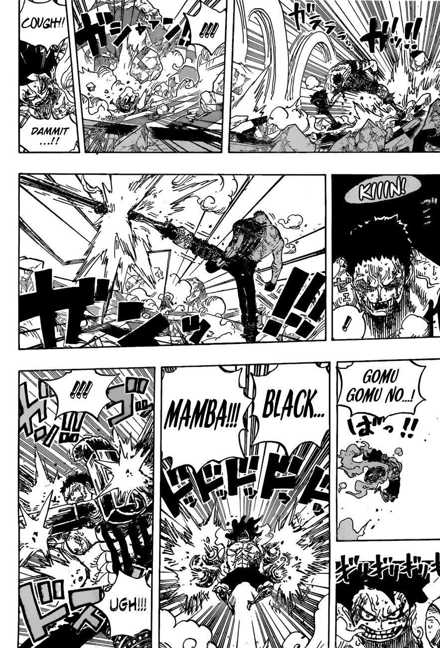 One Piece 895 Luffy Vs Katakuri One Piece Manga One Piece Anime Manga Pages