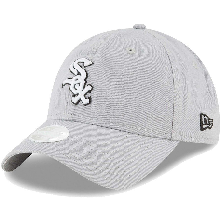 another chance d29ca 60ed8 Women s Chicago White Sox New Era Gray Core Classic Twill Team Color 9TWENTY  Adjustable Hat, Your Price   19.99