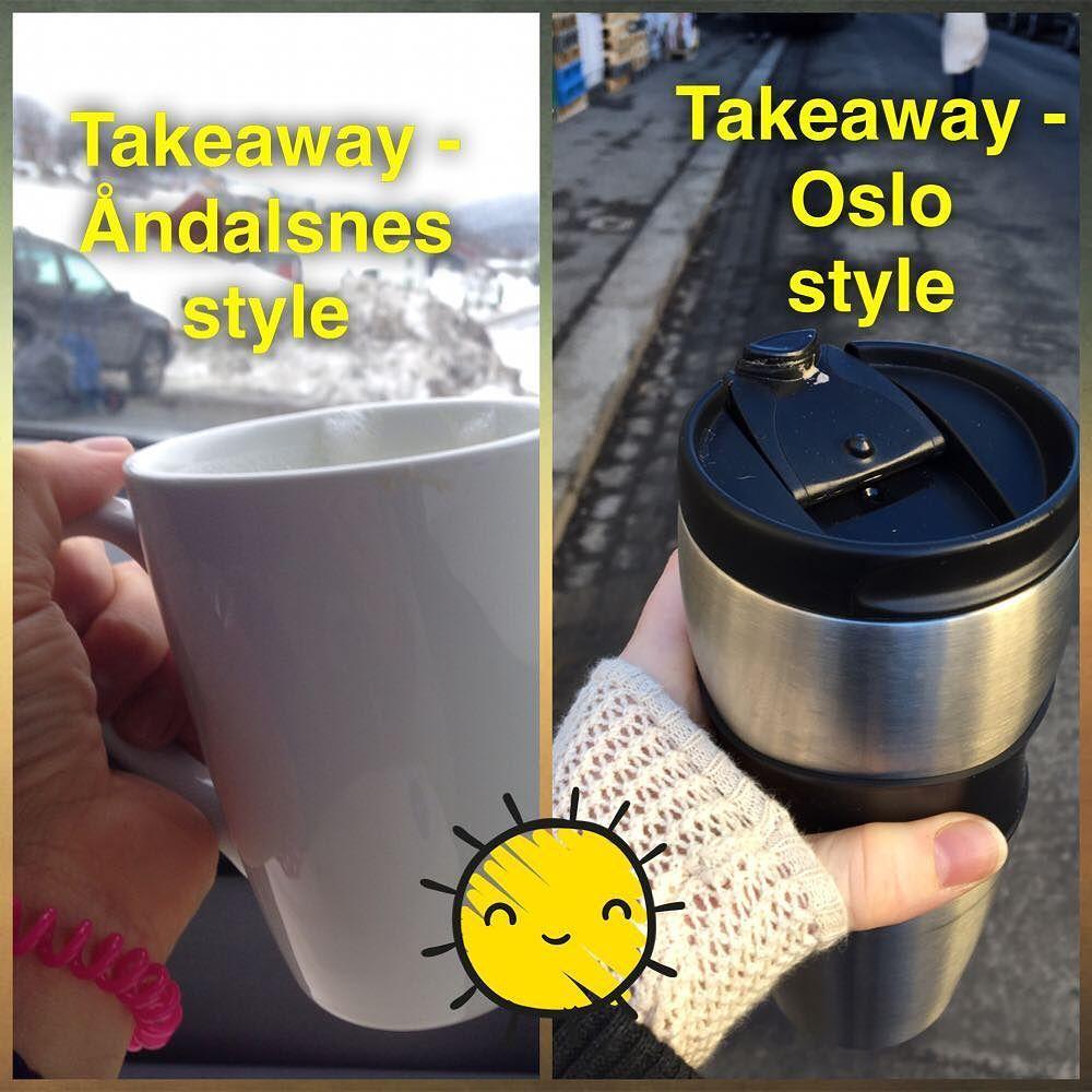 We LOVE our #coffetogo  #romsdalyoga #åndalsnes #puroyoga #oslo #takeawaycoffee #nowaste #yogateachers #ashtangayoga #jivamuktiyoga by jivakarina