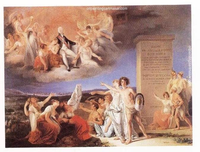 Domingos Sequeira Allegory Of The Virtues Of King Joao Vi