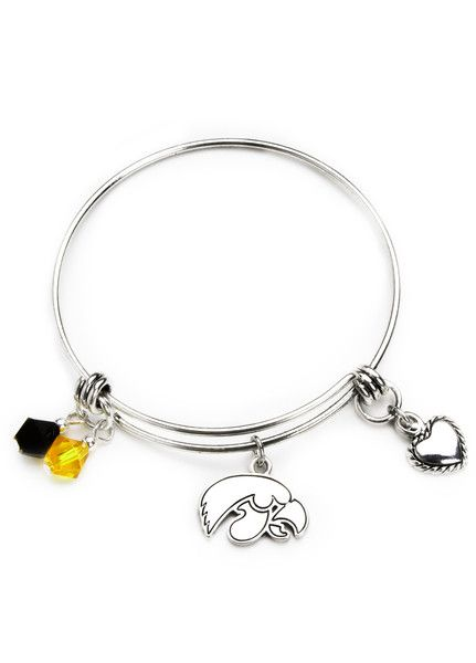 Show Your School Pride With Our Limited Edition Iowa Hawkeyes Bangle Bracelet