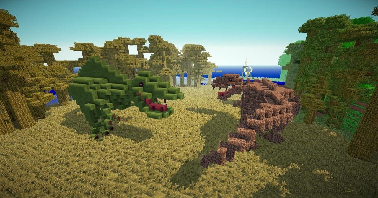 Jurassic Park Island Desticraft Spawn Island Minecraft Project