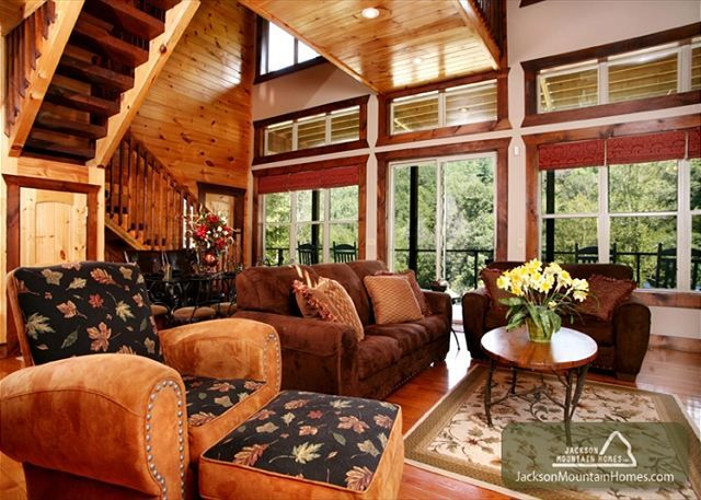 This is the cabin I hope to go to on Spring Break with my friends....