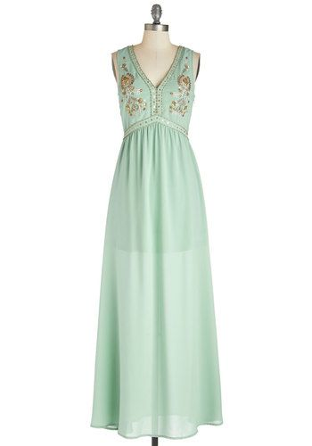 f562fadd21af9 Vision of Radiance Dress. If donning this seafoam gown is a daydream