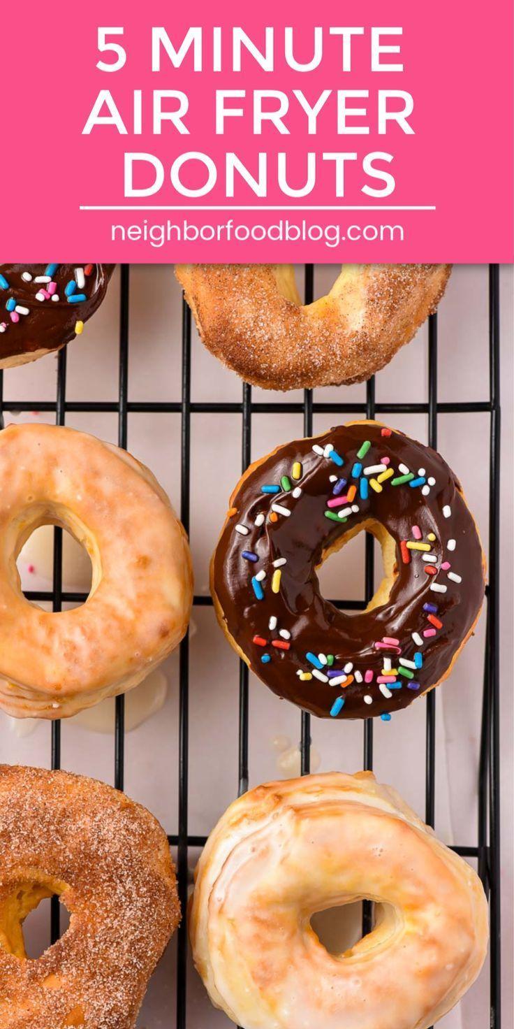 18 air fryer recipes easy dessert ideas