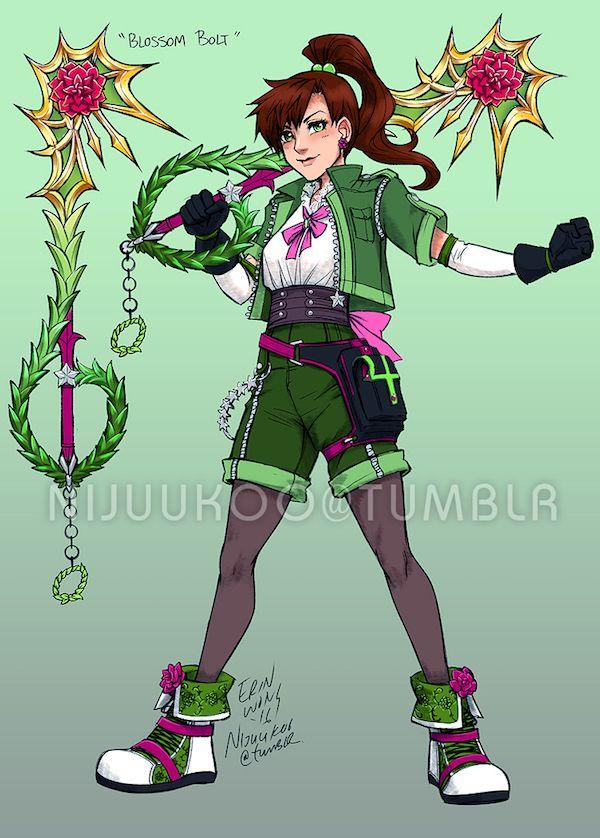 sailor moon kingdom hearts crossover art is cosplay ready sailor