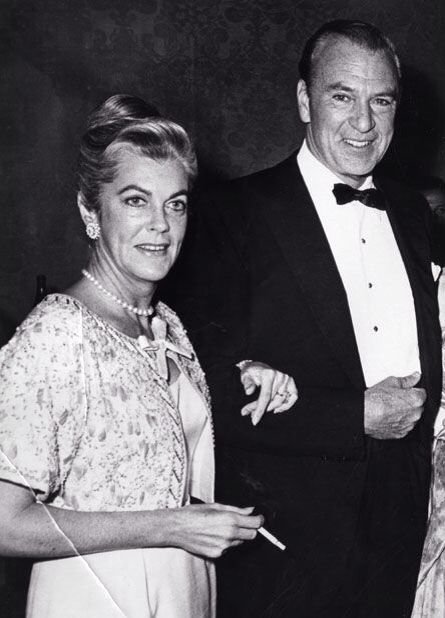 Gary Cooper and wife Rocky-married 1933-61/ 28 years until his death