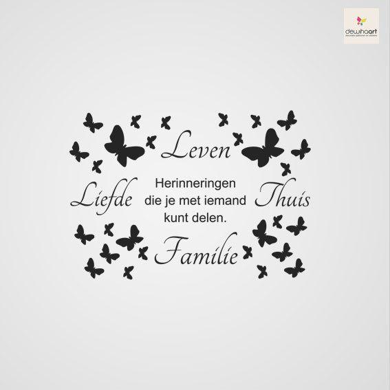 leven liefde familie thuis sjablonentekst pinterest