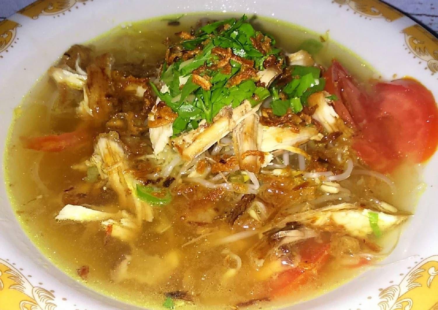 Resep Soto Ayam Kuah Bening Oleh Mellmell Resep Makanan Dan Minuman Resep Masakan Indonesia Resep Masakan