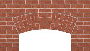 Segmental Arch | Brick in 2019 | Brick, Arch, Architecture