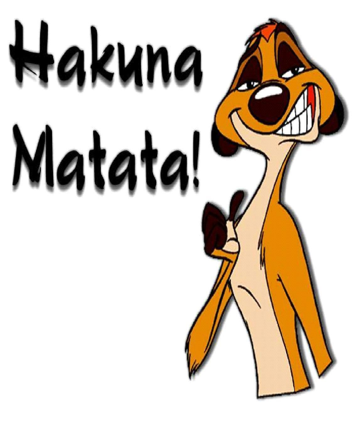Timon And Pumba Fan Art Timon And Pumba Hakuna Matata Funny Day Quotes Hakuna