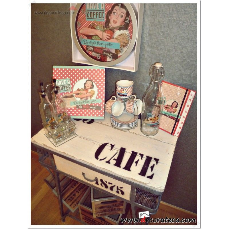 1f07abde8faa Colección accesorios de cocina Pin Up. Decoración vintage   retro ...