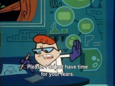 Dexter S Laboratory Cartoon Quotes Positive Quotes Motivation Words