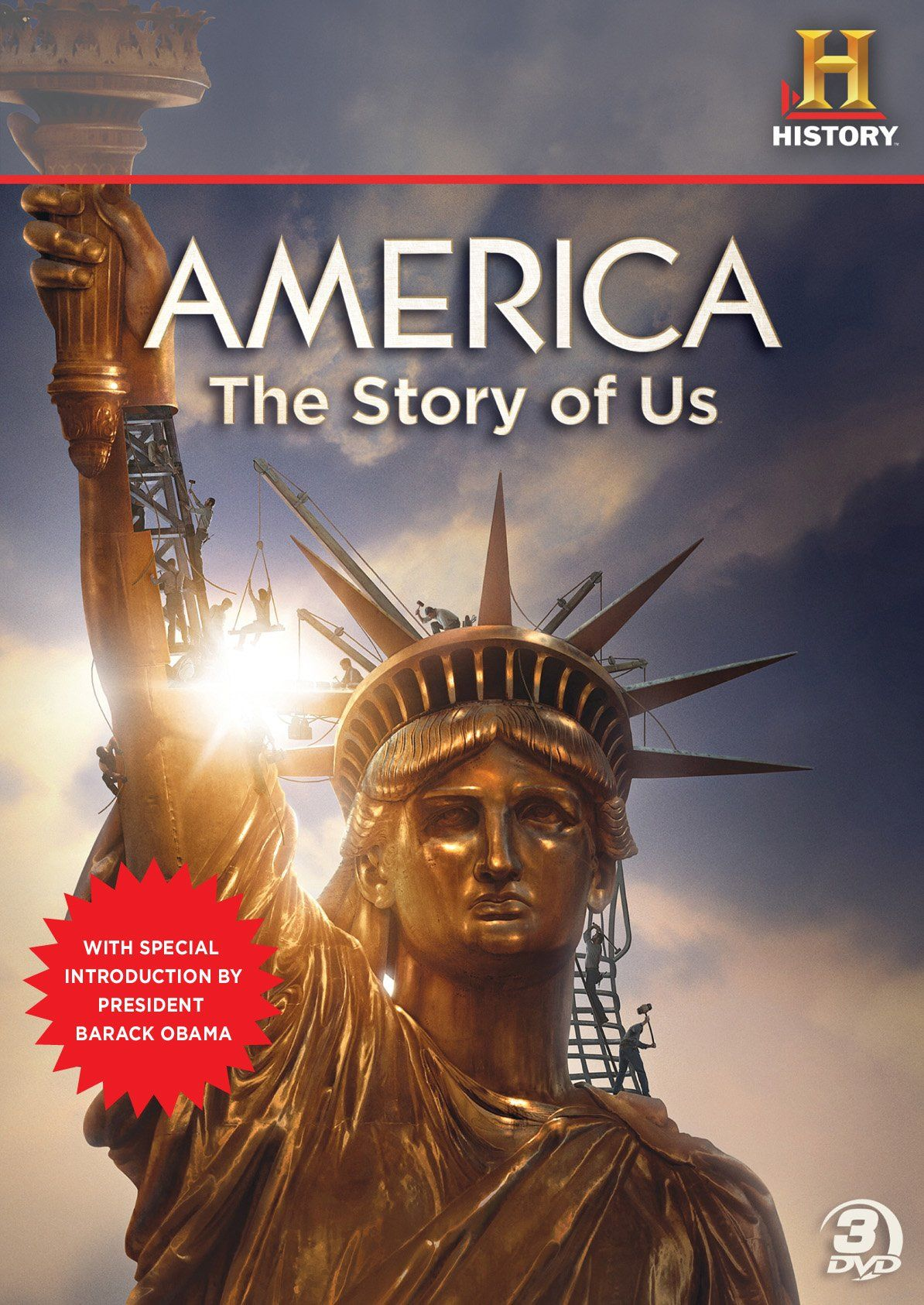 America: The Story of Us: Complete documentary DVD series on the history of  the